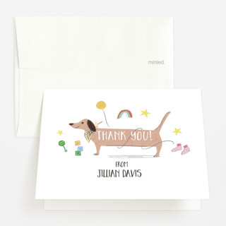 Baby Blanket Baby Shower Thank You Cards