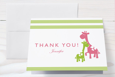 Cuddle Baby Shower Thank You Cards