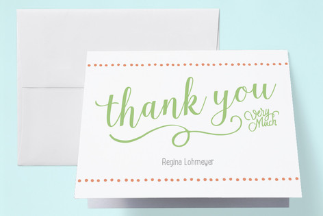 Two Peas Twins Baby Shower Thank You Cards By Pink Minted
