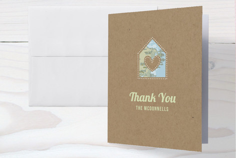 Coming Home Baby Shower Thank You Cards