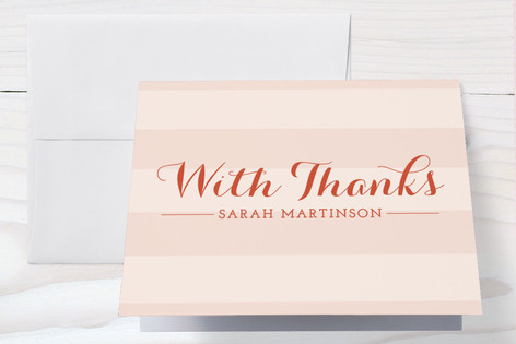 The Little Lady Baby Shower Thank You Cards