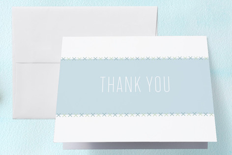 Perched Owl Baby Shower Thank You Cards