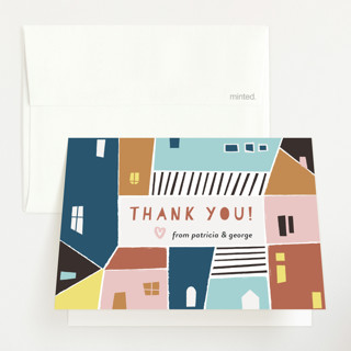 Papercut Village Baby Shower Thank You Cards