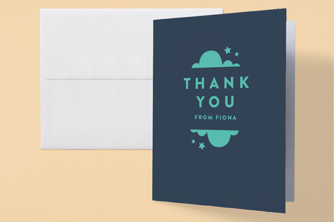 minimalist baby Baby Shower Thank You Cards
