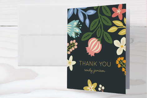 Baby Blooms Baby Shower Thank You Cards