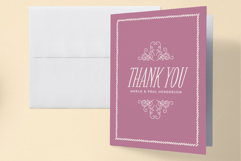 Bookworm Baby Shower Thank You Cards