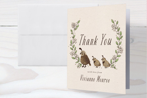 Covey Baby Shower Thank You Cards