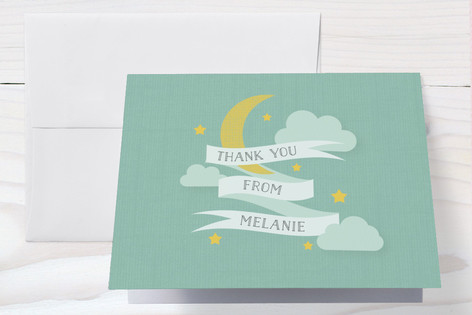 Twinkle Sprinkle Baby Shower Thank You Cards