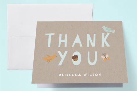 Oh Deer Baby Shower Thank You Cards