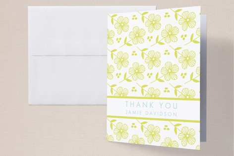 Busy Little Baby Baby Shower Thank You Cards