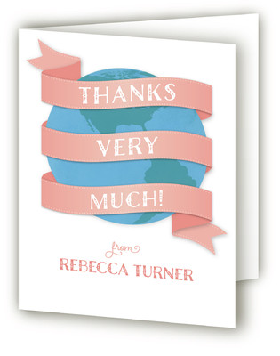 Welcome to the World Baby Shower Thank You Cards