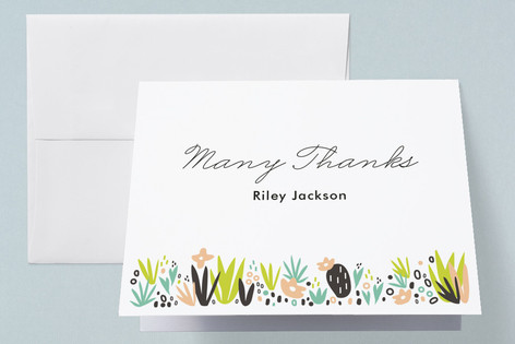 Agave Bebe Baby Shower Thank You Cards