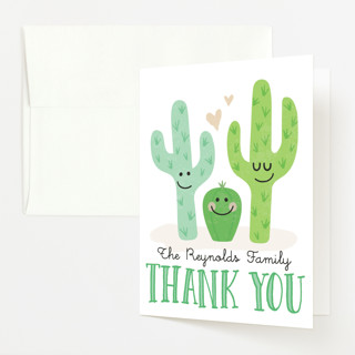 Cactus Cutie Baby Shower Thank You Cards