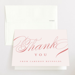 Classique Baby Shower Thank You Cards