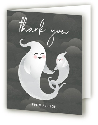 Little Boo Baby Shower Thank You Cards