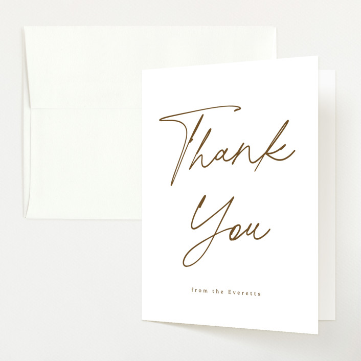 """""""Twin Daisy"""" - Baby Shower Thank You Cards in Peach by Corinne Malesic."""