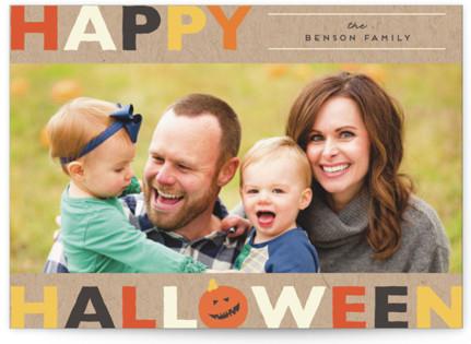 Colorful Halloween Halloween Petite Cards