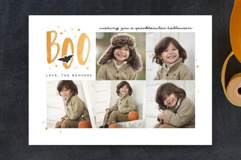 Painterly Boo Halloween Petite Cards