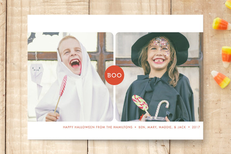 Double Boo Halloween Petite Cards
