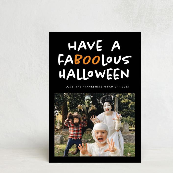 """Faboolous"" - Halloween Petite Cards in Cauldron by Heather Schertzer."