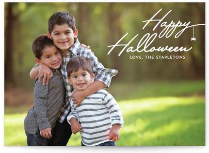 Halloween Spider Halloween Postcards