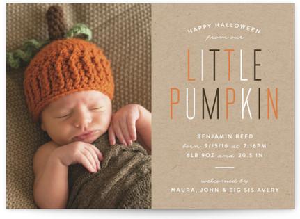 Little Pumpkin Halloween Postcards