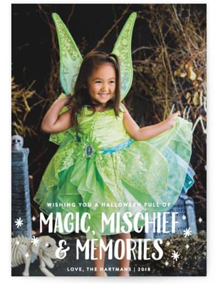 Magic Mischief Halloween Postcards