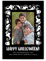 Ghost Frame Halloween Postcards
