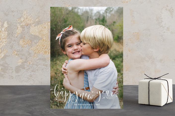 """Festive"" - Holiday Photo Cards in Snowflake by Jessica Williams."