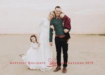 Understated Holiday Photo Cards By Jennifer Wick