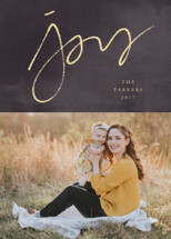 A  Simple  Joy Holiday Photo Cards By fatfatin