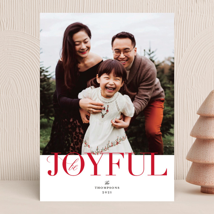 """""""Simply Put"""" - Holiday Photo Cards in Stocking by Kimberly FitzSimons."""