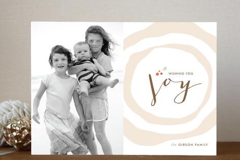 Buche de Noel Holiday Photo Cards