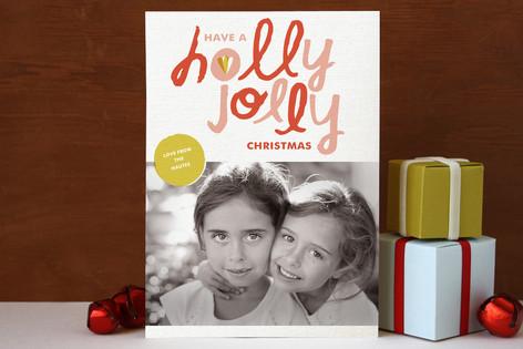 Hollygram Holiday Photo Cards