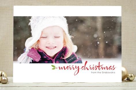 Panorama Holiday Photo Cards