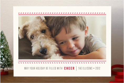 Baker's Twine Holiday Photo Cards