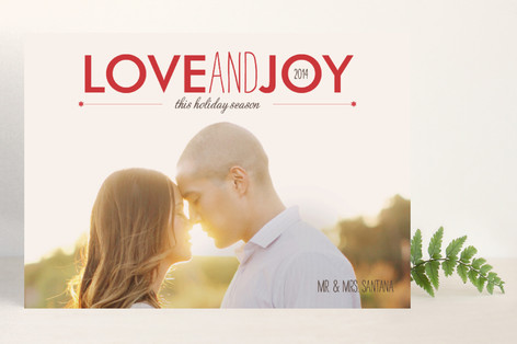 Holiday Bliss Holiday Photo Cards