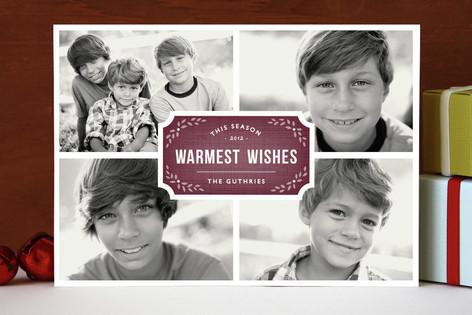 Classic Quartet Holiday Photo Cards