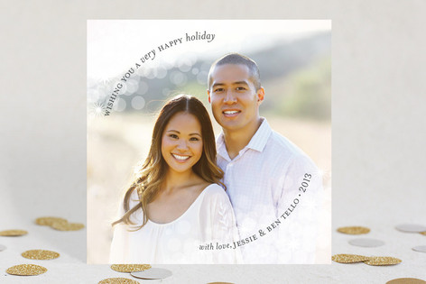 Dazzling Holiday Photo Cards