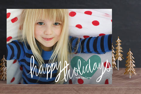 Autograph Holiday Photo Cards