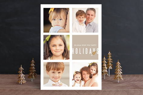 Finely Krafted Holiday Photo Cards