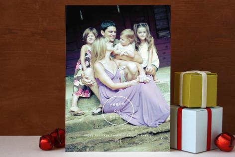 Peace Circle Holiday Photo Cards
