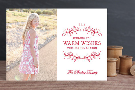 Joyful Season Holiday Photo Cards