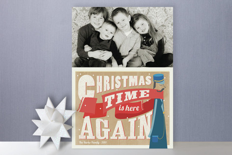 All Aboard Holiday Photo Cards