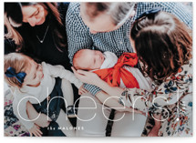 This is a white holiday photo card by Sara Hicks Malone called oh joy! with standard printing on smooth signature in standard.