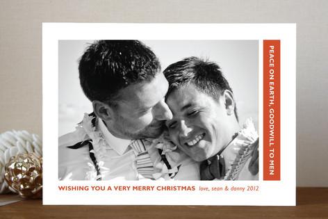 Peace toward All Holiday Photo Cards