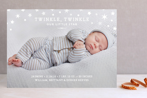 Twinkle Twinkle Holiday Photo Cards