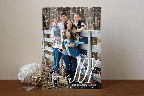 Dusting of Joy Holiday Photo Cards