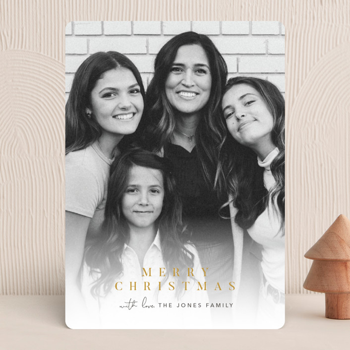 """jubilance"" - Holiday Photo Cards in Eggnog by Pine and Lark."