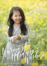 Warmth Holiday Photo Cards By Leah Bisch